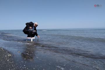 Nabranda dəniz suyunun tərkibi yoxlanılır