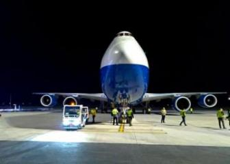 Azerbaijan's Boeing 747 freighter lands at new Istanbul New Airport for the first time