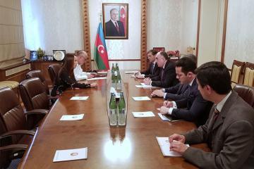 Azerbaijani FM receives President of Inter-Parliamentary Union
