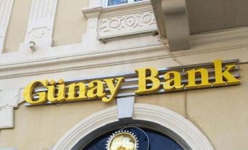 """""""Gunay Bank""""ın mənfəəti 70%-ə yaxın azalıb"""
