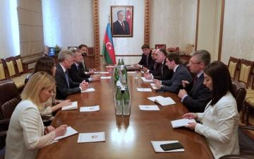 Azerbaijani FM meets with the President of the Chamber of Deputies of the Argentine National Congress