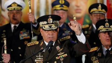 """Venezuela's Defense Minister: """"Armed forces remain with Maduro's government"""""""