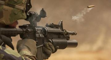 Ermənistan silahlı qüvvələri iriçaplı pulemyotlardan Azərbaycanın mövqelərini atəşə tutub