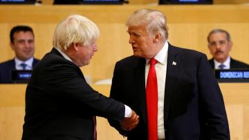 Trump and Johnson discussed trade, security, 5G
