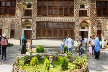 Entrance to Shaki Khan Palace to be restored next week