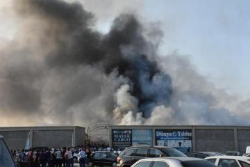 26 people face smoke inhalation due to fire, occurred in Sadarak Shopping Center - [color=red]OFFICIAL[/color] - [color=red]VIDEO[/color]