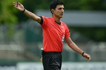 Azerbaijani FIFA referee to judge Champions League match