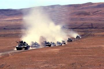 В ВС Азербайджана начались командно-штабные учения