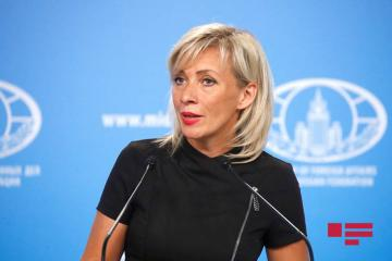 "Maria Zakharova: ""We are pleased with relatively peaceful at the Azerbaijan-Armenia LoC"""