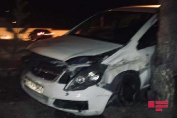 Водитель впал в кому после ДТП в Баку