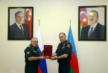 Delegation of Russian Ministry of Defense pays working visit to Azerbaijan