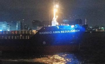 В Мраморном море столкнулся танкер «Мамед Эмин Расулзаде»
