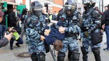 Moskvada müxalifətin yürüşünə icazə verilmədi