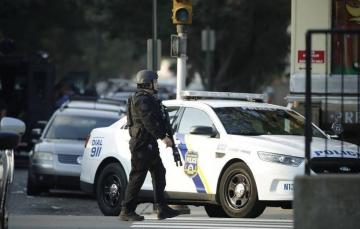 At least six police officers injured in Philadelphia shooting