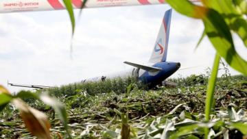 "VIDEO of Moscow passenger plane made ""miraculous"" crash-landing in cornfield"