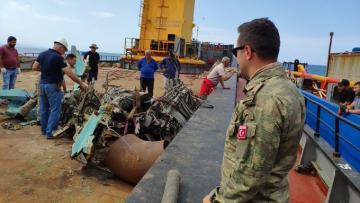 Найдены новые фрагменты потерпевшего крушение азербайджанского самолета МиГ-29 - Минобороны Турции