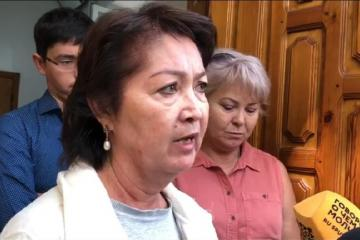 Qırğızıstanın eks-prezidentinin xanımına qarşı cinayət işi başlanılıb