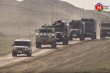 Troops of Nakhchivan garrison conducted next command and staff exercises - [color=red]VIDEO[/color]