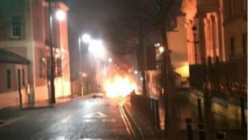 Bomb explodes as police arrive at scene in Northern Ireland after Hoax