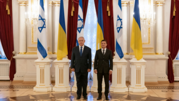 Ukraine and Israel agreed to begin work on free trade