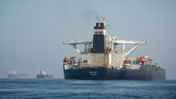 Иранский танкер покинул Гибралтар