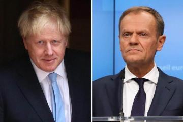 Boris Johnson set to meet European Council President Donald Tusk