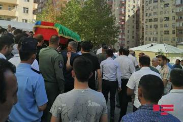 Farewell ceremony is held at Rashad Atakishiyev's house