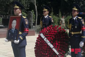 Military pilot Rashad Atakishiyev buried in Second Alley of Honor - [color=red]UPDATED-2[/color]