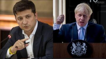 Ukrainian President had a phone conversation with UK PM