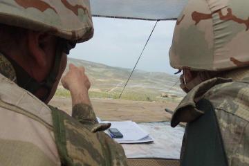 Ermənistan silahlı qüvvələri atəşkəsi iriçaplı pulemyotlarla pozub
