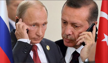 Erdoğan, Putin discuss Syria, Libya on phone call