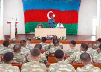 Representatives of the State Committee for Work with Religious Associations met with soldiers