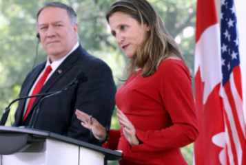 Canada opposes Russia's return to G8: Freeland