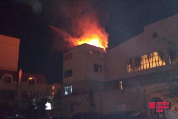 В  Сумгайыте в доме торжеств произошел пожар - [color=red]ФОТО[/color] - [color=red]ВИДЕО[/color]