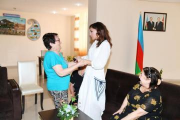 First Vice-President Mehriban Aliyeva visited social service center for the elderly