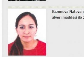 Azerbaijani woman wanted by Interpol detained