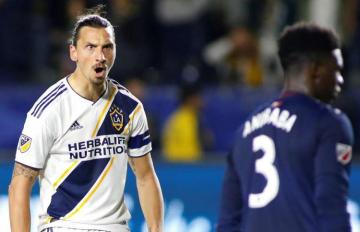 Zlatan Ibrahimovic secured his double in 3rd consecutive match