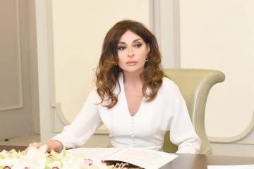 Birinci vitse-prezident Mehriban Əliyeva Allahşükür Paşazadəni təbrik edib