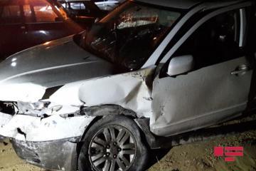 Bakıda 2 avtomobil toqquşub, 5 nəfər yaralanıb - [color=red]SİYAHI[/color] - [color=red]FOTO[/color]