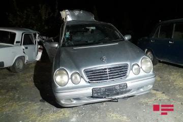 В Шамкире «КамАЗ» опрокинулся на Mercedes: есть пострадавшие - [color=red]ФОТО[/color]