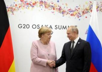 Merkel and Putin agree need to speed gas talks