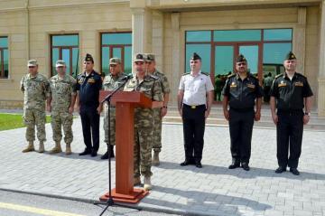 "Turkish, Georgian servicemen arrive in Baku to participate in ""Eternity-2019"" Exercises"