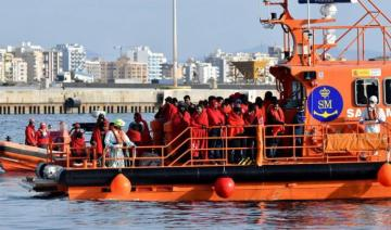 Spanish coastguard rescues 208 migrants crossing from Africa to Spain