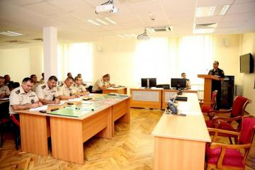 Operational training sessions were held at the Center for War Games of the Armed Forces