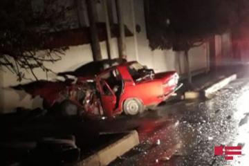 В результате ДТП в Шамкире погибли 5 человек - [color=red]ФОТО[/color]