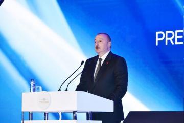 Ильхам Алиев: Мы и дальше вместе будем идти плечом к плечу как две братские страны