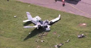 При крушении самолета в США погибли девять человек