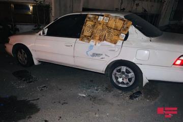 В Баку автоледи врезалась в автомобиль посольства - [color=red]FOTO[/color]