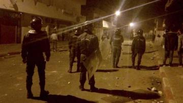 Tunisia's police and demonstrators clash in third night of protests
