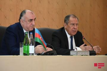 "Lavrov: ""Russian-Azerbaijani relations are strategic as well as, based on mutual trust and faith"""